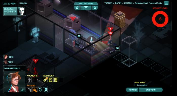 Невидимая война: рецензия на Invisible, Inc